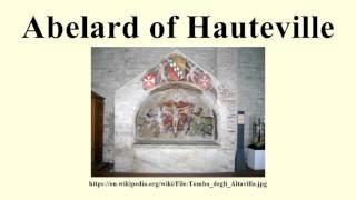 22c16af1d6 Abelard of Hauteville - WikiVisually