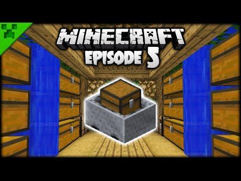 The Minecraft Minecart Mineshaft!   Python's World (Minecraft Survival Let's Play)   Episode 5
