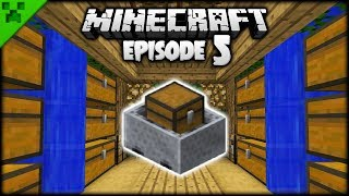 The Minecraft Minecart Mineshaft! | Python's World (Minecraft Survival Let's Play) | Episode 5