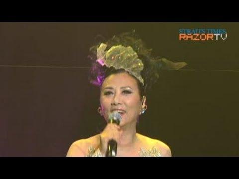 Liza Wang sings 万水千山总是情 (Adam Cheng & Liza Wang Pt 10)