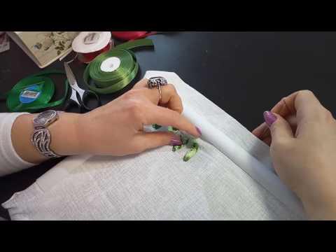 Рукоделие для начинающих вышивка лентами