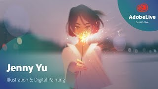 Live Illustration & Digital Painting with Jenny Yu 1/3