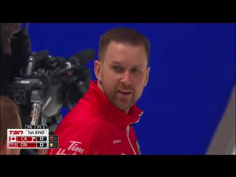 Gushue (CA) vs. Epping (ON) - 2018 Tim Hortons Brier 1v2 Page Playoff