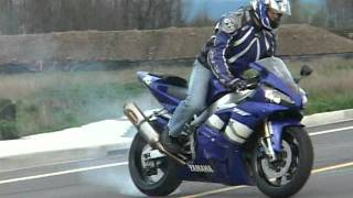 My First Time Riding A Yamaha R1!