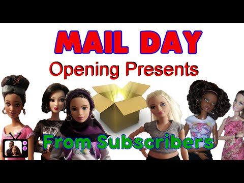 MAIL DAY Box Opening/Opening Birthday Presents From Subscribers 2016 (Birthday Vlog)