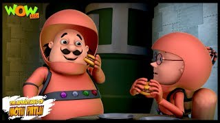 Motu Patlu Cartoons In Hindi |  Animated cartoon | Space ship | Wow Kidz