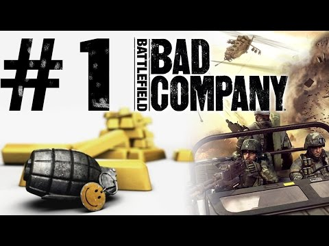 Battlefield: Bad Company Gameplay #1 - Let's Play Battlefield: Bad Company German