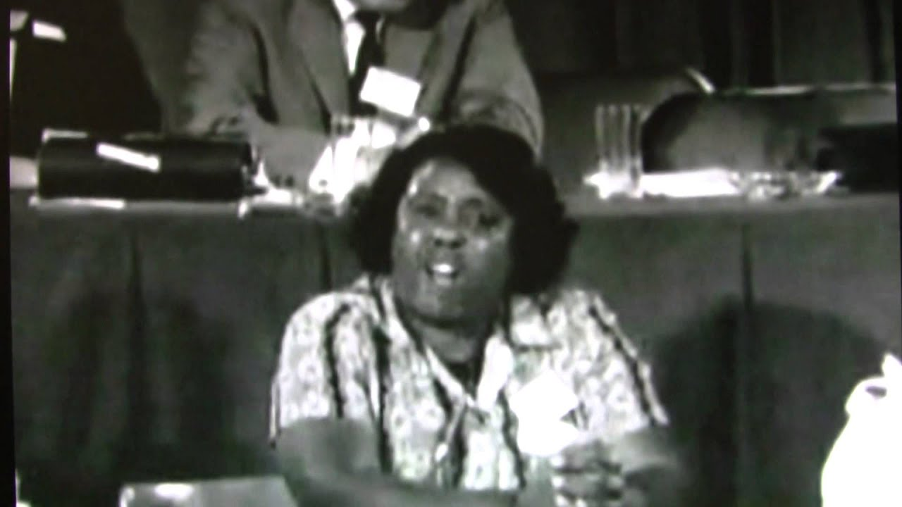 Mzuri Moyo Aimbaye commemorates Mrs. Fannie Lou Hamer