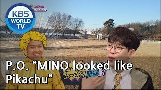 "P.O. ""MINO looked like Pikachu""[Happy Together/2019.04.04]"