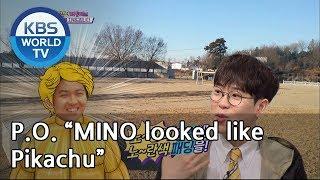 "P.O. ""MINO looked like Pikachu""[Happy Together/2019.04.04]"