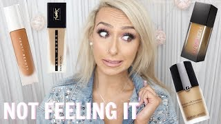 CULT FAVORITE HIGHEND FOUNDATIONS I DON'T LIKE | DramaticMAC