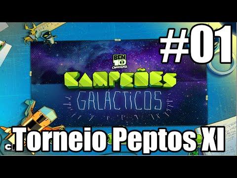 Ben 10 Campeões Galácticos #01 : Torneio Peptos XI
