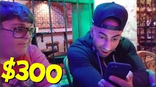 Andy Milonakis Gives FouseyTUBE $300 For His Homeless Journey