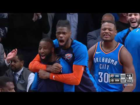 Oklahoma City Thunder vs Brooklyn Nets : December 5, 2018