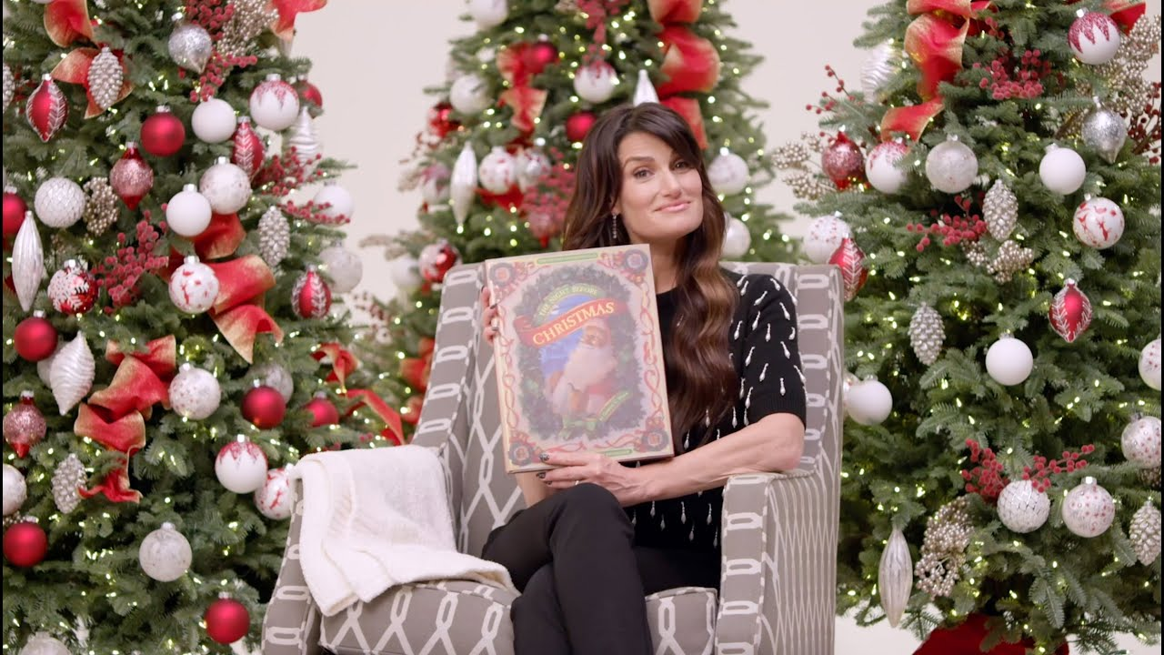 """Idina Menzel Reads """"'Twas the Night Before Christmas..."""" by CC Moore"""