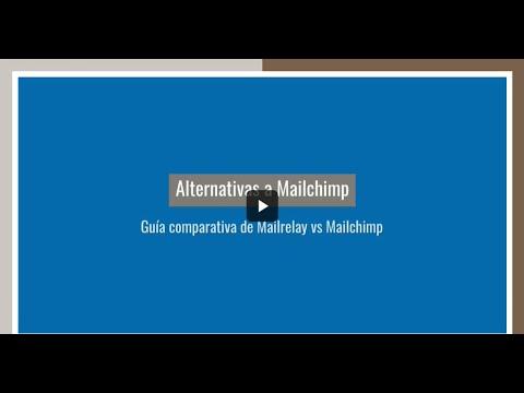 Alternativas a Mailchimp guía comparativa de Mailrelay vs Mailchimp