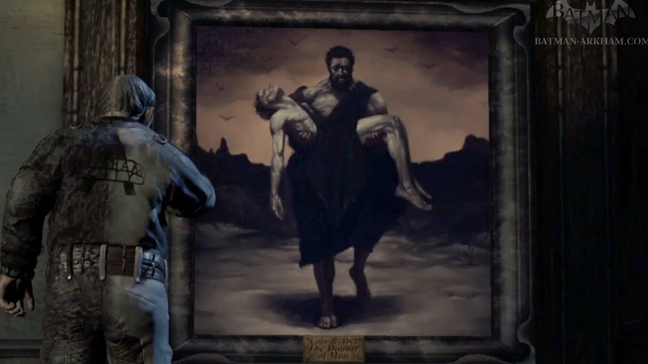 Batman: Arkham City - Easter Egg #13 - The Duality of Man - YouTube