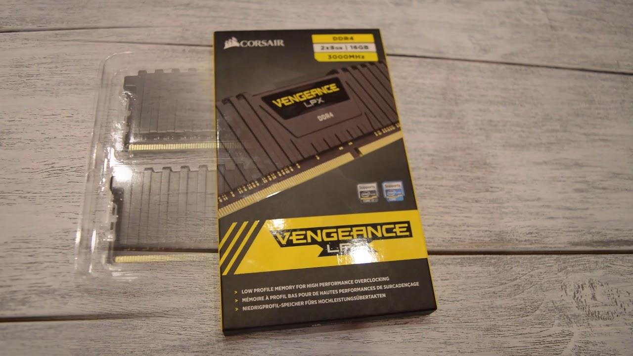 ОНЛАЙН ТРЕЙД РУ - Комплект памяти Corsair DDR4 16Gb (2x8Gb) Vengeance  (CMK16GX4M2B3000C15)