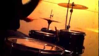 Paul Bergner -First drum video