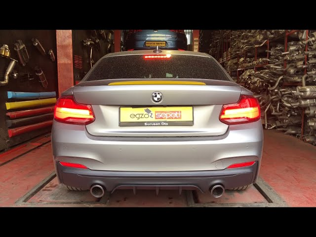BMW F22 2.18 KUMANDALI VAREX EGZOZ SESİ