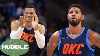 Russell Westbrook PROMISES Paul George a Championship -The Huddle