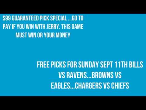 Jerry week 1 2016 football free picks and free dfs daily fantasy sports contest