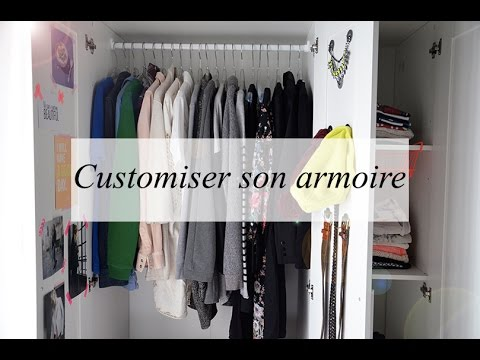 diy d co customiser son armoire youtube. Black Bedroom Furniture Sets. Home Design Ideas