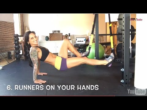 7 Awesome TRX Exercises for Legs And Booty