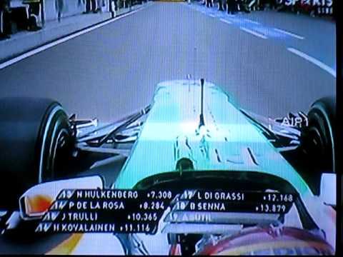 F1 2010 R11 Germany Start Avi Youtube