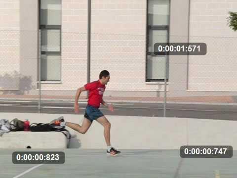 Test de velocidad en campus de cartagena