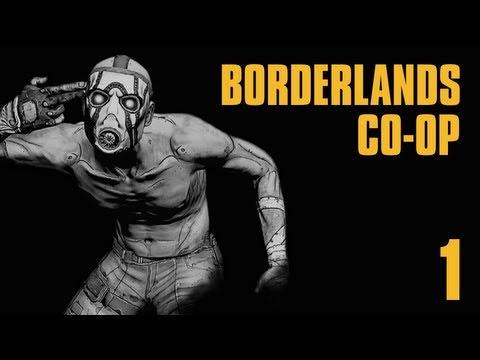Прохождение Borderlands Co-op : Часть 1 — Высадка на Пандоре