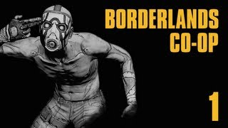 Прохождение Borderlands Co-op Часть 1 Высадка на Пандоре