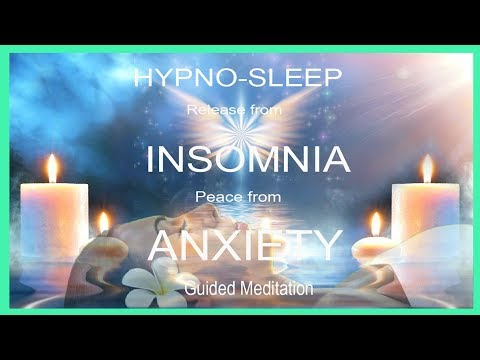 Sleep Hypnosis for Insomnia & Anxiety reduction Guided Meditation