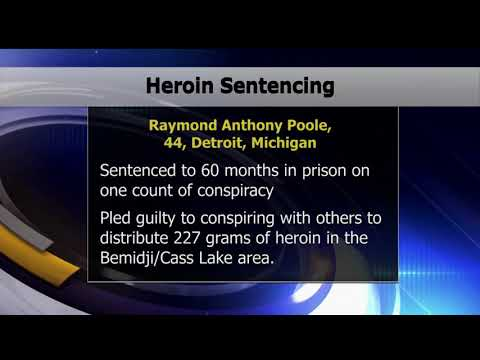 Raymond Poole Sentenced For Conspiring To Distribute Heroin