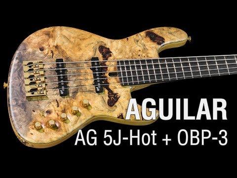 Aguilar AG 5J-Hot + OBP-3 TK // Maruszczyk Elwood L5a