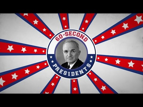 Harry S. Truman | 60-Second Presidents | PBS
