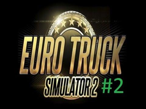 Euro Truck Simulator 2 #2 Stockholm-Örebro-Jönköping. Svenska