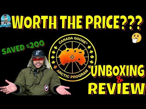 CANADA GOOSE EXPEDITION PARKA UNBOXING & REVIEW | SAVED $200 BUT WORTH THE PRICE? | KEEPING IT CLEAN
