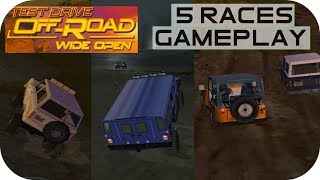 Test Drive Off-Road Wide Open - 5 Races Gameplay - PlayStation 2 HD