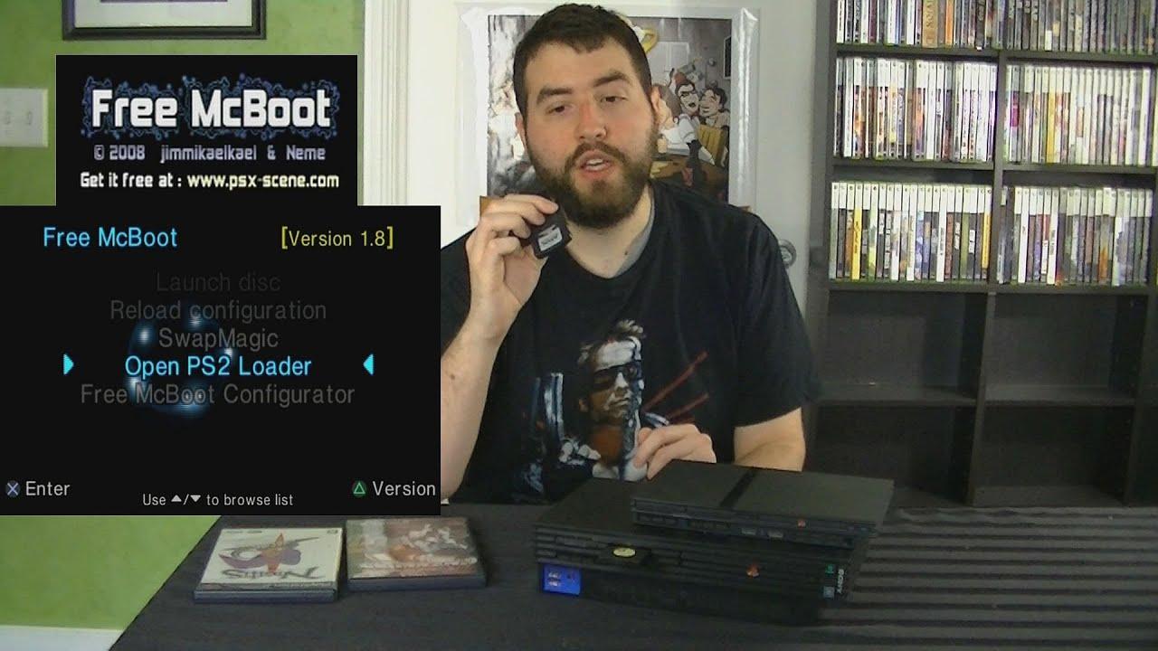 Gamerade - Free McBoot for the Sony PS2 - Adam Koralik