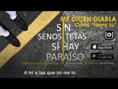 SIN TETAS SI HAY PARAISO/ ME DICEN DIABLA / CANTA FANNY LU