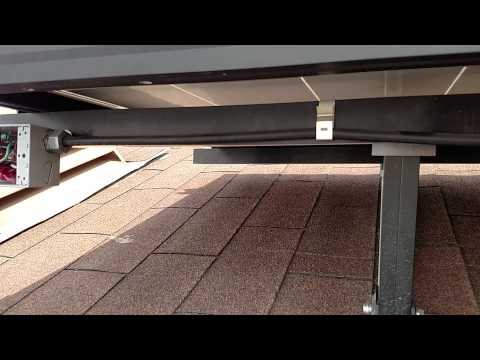 DIY Solar Panel Project Roof Mount W/200amp Panel DIY Finalized