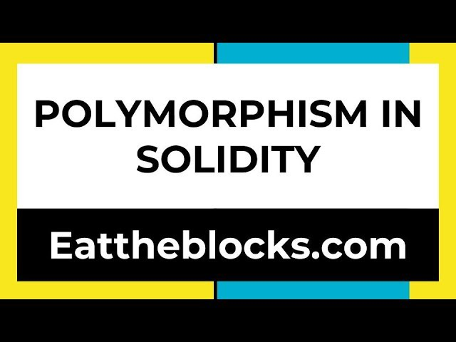 Polymorphism In Solidity + Solution To Last Episode Challenge | Ep8