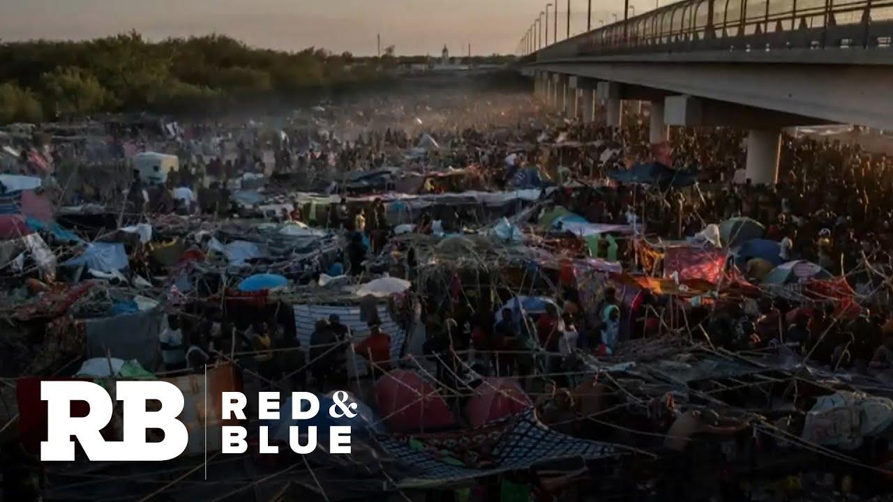 Photos Show Haitian Immigrants At Del Rio, Texas, Camp
