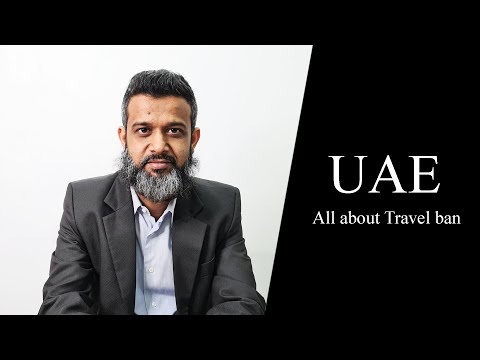 UAE Law: All about Travel ban - Legal regime surrounding it- In Hindi