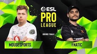 CS:GO - Fnatic vs. mousesports [Train] Map 2 - Grand Final - ESL Pro League Season 10 Finals
