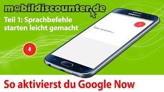 Google Now Teil 1 - Einstellungen