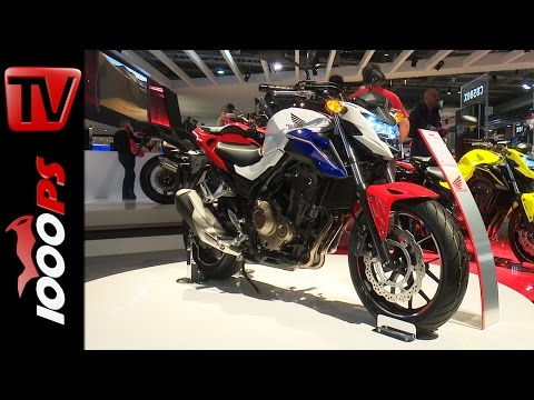 Honda CB500F 2016   Details, Motor, Designs