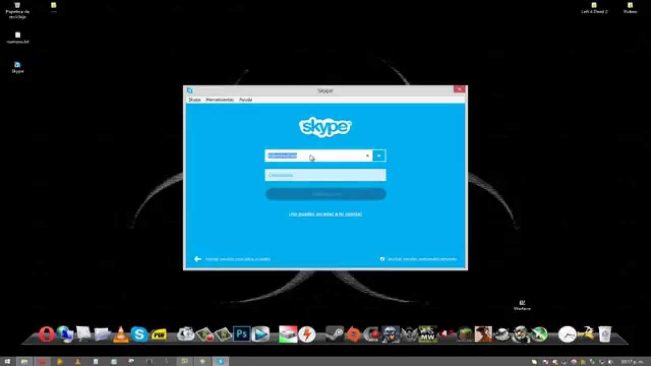como descargar skype v escritorio para windows 7 8 y 8