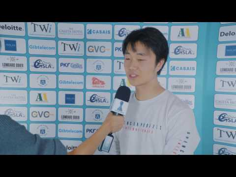 Round 6 Gibraltar Chess post-game interview with Bobby Cheng
